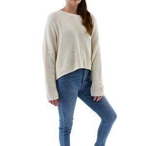 ZARA Oversized Cotton Drop Sleeves Sweater #AD16